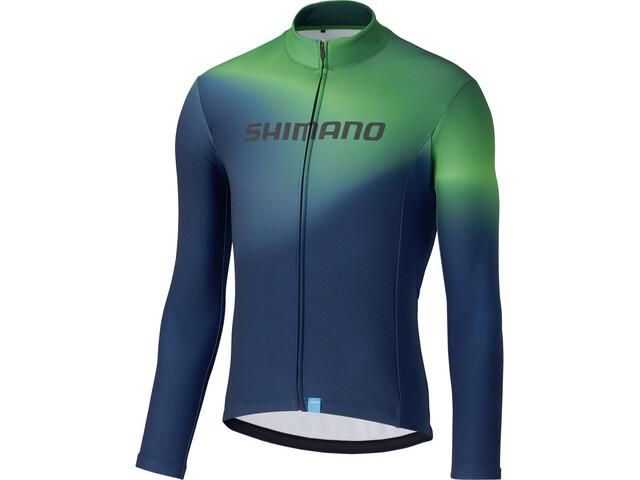 Shimano Team LS Jersey Men green
